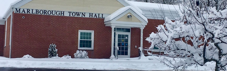Winter Town Hall